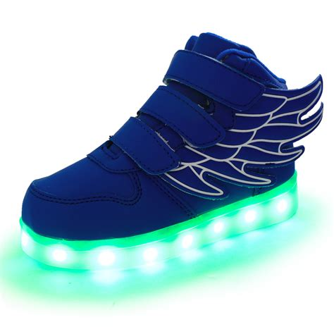 Boys Light Up Shoes by Saguaro Boys Wings Led Shoes Light Up