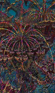 Great Psychedelic Eruption II {by EricTonArts on ...