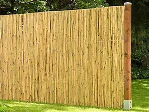 Bambus Edelstahl Sichtschutz : bambusmatte kairo aus nat rlichen bambus als sichtschutz ~ Markanthonyermac.com Haus und Dekorationen