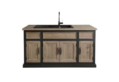 evier cuisine bricoman trendy meuble de cuisine avec vier chic xx cm anthrac
