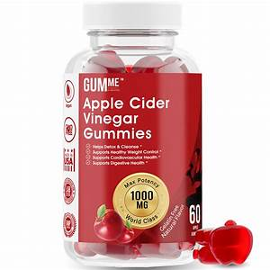 Gumme Apple Cider Vinegar Gummies Weight Loss  Lose Weight