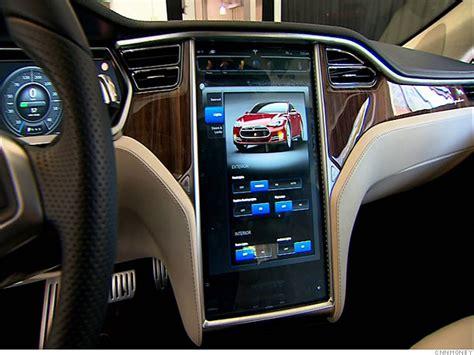 tesla roadster interior inside the tesla model s rich interior 4 cnnmoney