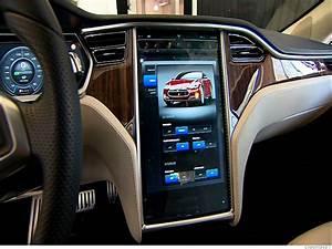 Inside the Tesla Model S - Rich interior (4) - CNNMoney