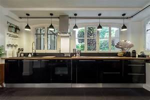 loft design contemporain cuisine nice par franck With rampe d eclairage pour cuisine