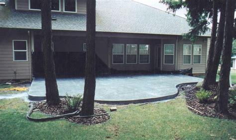 image detail for patio slab ideas concrete slab patio