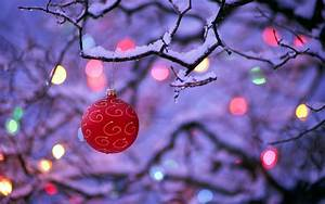 Winter and Christmas Wallpaper ·①