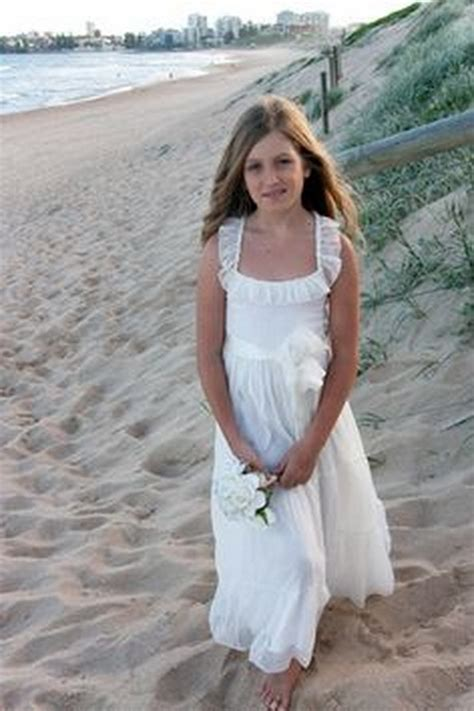 flower girl dresses  beach wedding