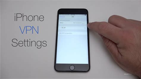 vpn iphone how to setup an iphone vpn connection