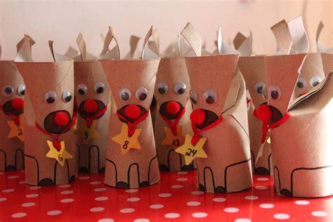 Rentier Adventskalender Handmade Kultur