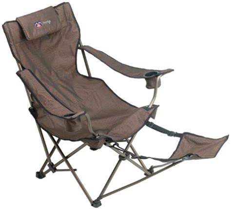 lawn chair with footrest compare prices patio chairs mac sports pestige series