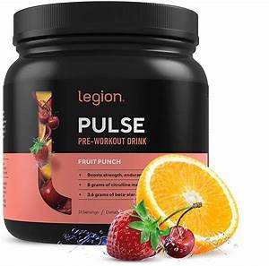 Legion Pulse  Best Natural Pre Workout Supplement For Women And Men  U2013 Powerful Nitric Oxide Pre