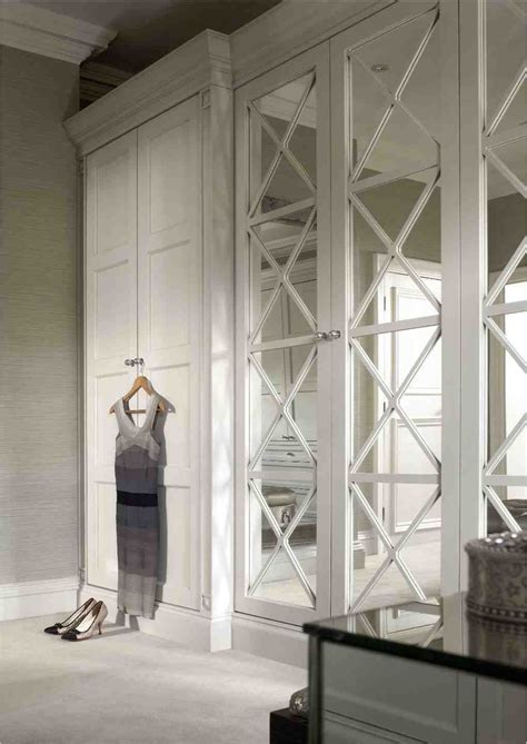 Wardrobe Closet With Mirror Doors by Mirrors Bedrm Mirror Closet Doors Closet Bedroom
