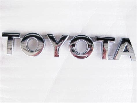 sell toyota letter logo badge emblem motorcycle
