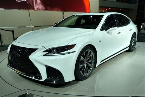 Lexus Ls F Sport Revealed At The 2017 New York Motor Show