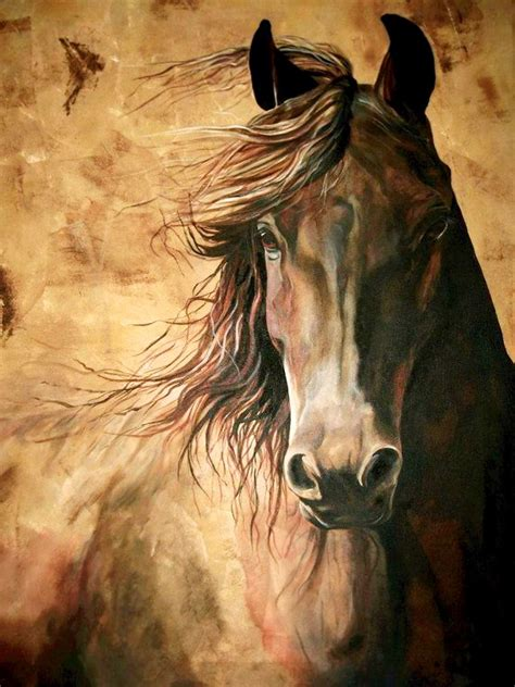 Realistic Horse Paintings