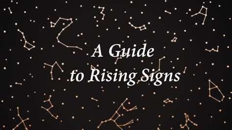 Rising Signs, Explained: What Ascendant Signs Reveal About ...