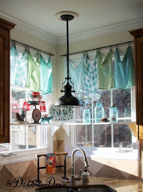 diy table cloth curtains window treatments ideas