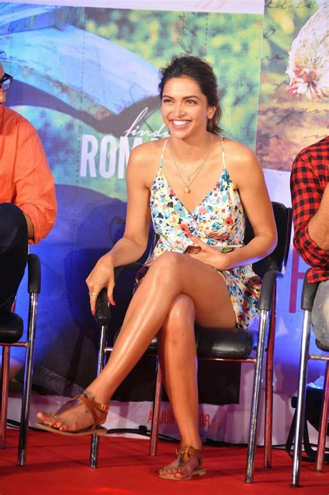 High Quality Bollywood Celebrity Pictures Deepika Padukone Showcasing Her Sexy Long Legs At