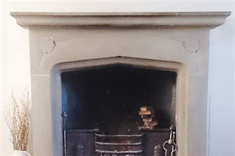 How To Clean A Neglected Stone Fireplace