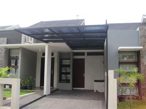 gambar model kanopi garasi desain rumah