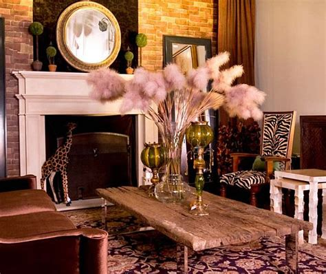 safari decor for living room decorating with a modern safari theme