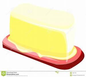 Butter stock vector. Illustration of breakfast, margarine ...