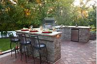 great patio barbecue design ideas 22+ Outdoor Kitchen Bar Designs, Decorating Ideas | Design ...