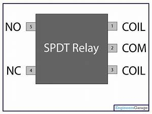 Relay Switch Pin Diagram  2019