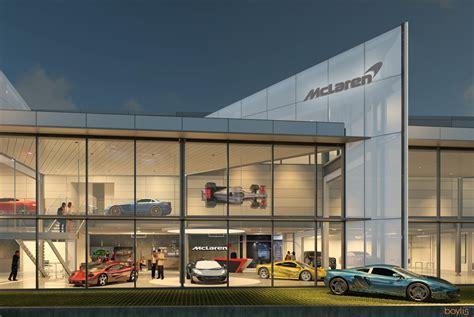 McLaren Opens Dealership in Bellevue, Washington | The Drive