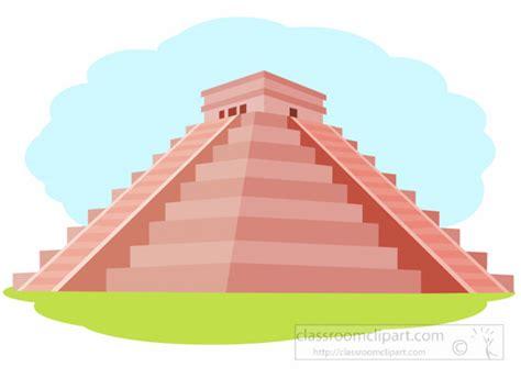 Mayan Clipart- Mayan-pyramid-temple-of-kukulcan-chichen