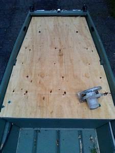 Installing A Longer Deck On My 10 U0026 39  Jon Boat For Bow