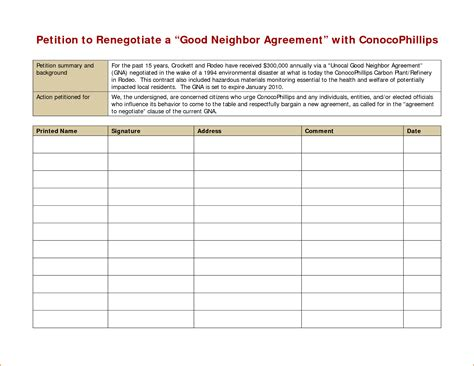 Petition Template Petition Template Printable Www Pixshark Images