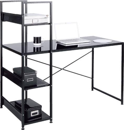 bureau noir conforama bureau allblack conforama luxembourg