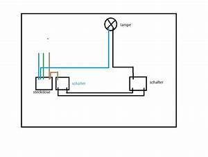Wandlampen Mit Schalter Und Kabel : zwei wechselschalter ber steckdose und lampe verbinden 8 dr hte sind vorhanden elektrik ~ Eleganceandgraceweddings.com Haus und Dekorationen