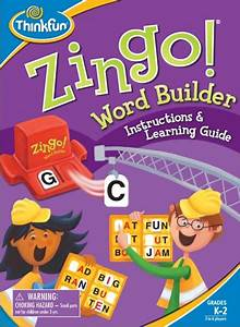 thinkfun zingo word builder toy in town With zingo letters