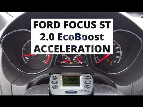 ford focus st 2 0 ecoboost ford focus st 2 0 ecoboost 250 hp acceleration 0 100 km h