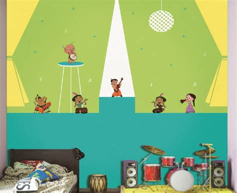 Asian Paints Kids' World Introduces New Wall Theme For