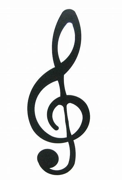 Clef Treble Symbols Notes Piano Note Sign