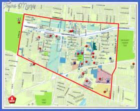 Memphis Tourist Attractions Map