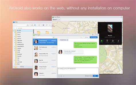 airdroid android app airdroid file notifications android apps on play