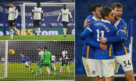 Brighton 1-0 Tottenham: Leandro Trossard strikes to cap ...
