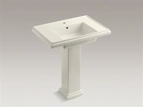 contemporary bathroom pedestal sinks kohler tresham r 30 quot pedestal bathroom sink with single