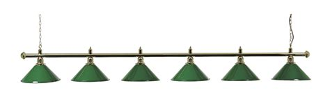 pool table light canopy snooker table light brass bar with 6 green shades free