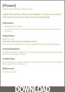 ms office experience resume 12 free microsoft office docx resume and cv templates