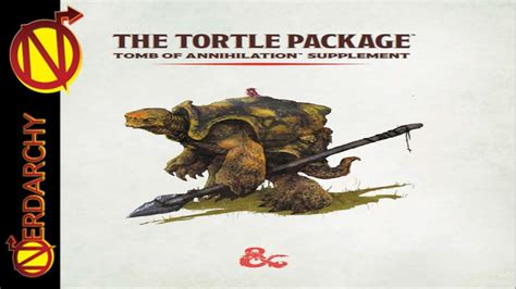 Tortle Package New 5e D&d Player Race Option