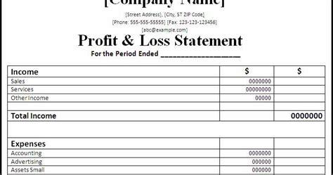 write  profit  loss statement facebookthesis