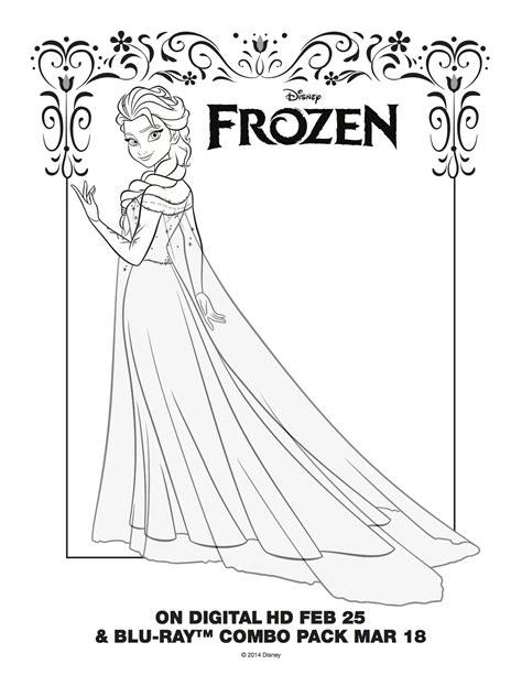 frozen elsa coloring page elsa  anna photo
