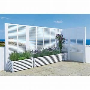 Babybett Holz Weiß : pflanzkasten holz sichtschutz ~ Whattoseeinmadrid.com Haus und Dekorationen