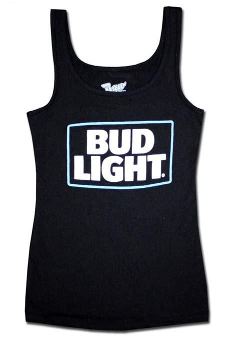 bud light tank top bud light s black tank top beertees