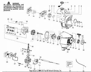 Poulan Ppb100 Gas Trimmer Parts Diagram For Engine Assembly